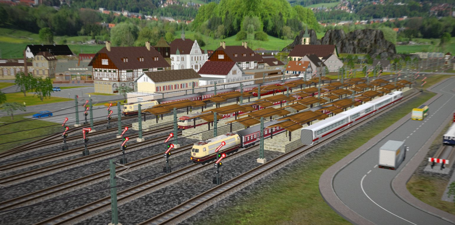 Home 3d train studio 3d site